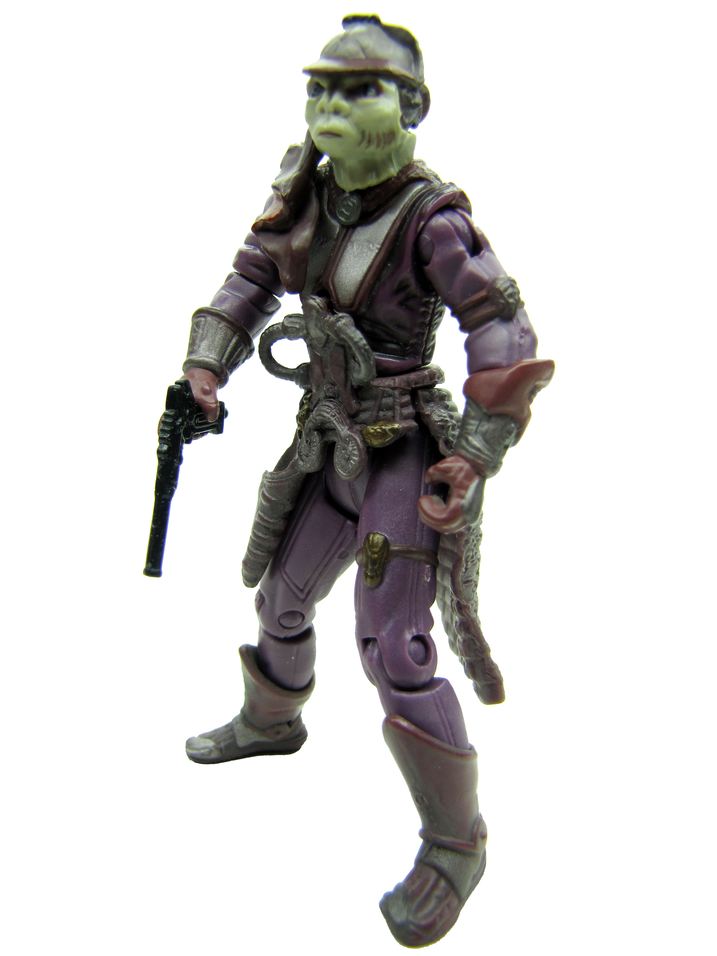 2002 Star Wars Saga ZAM WESELL BOUNTY HUNTER Complete